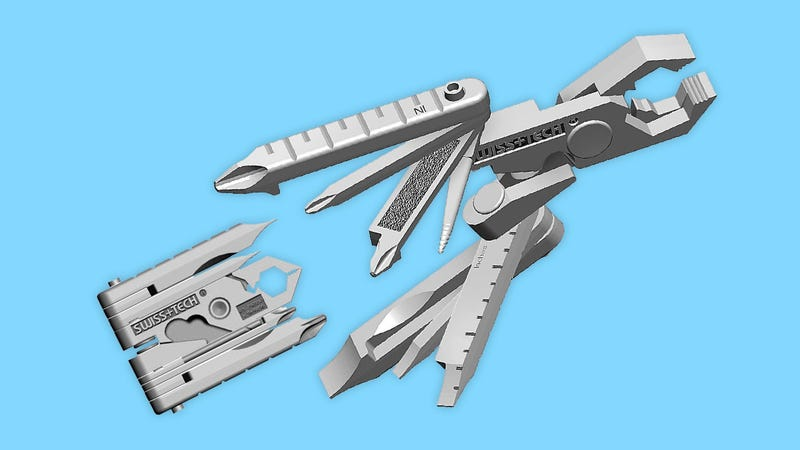 Illustration for article titled Swiss+Tech MMCSSS Micro-Max Fits Nearly Every Tool in Your Pocket