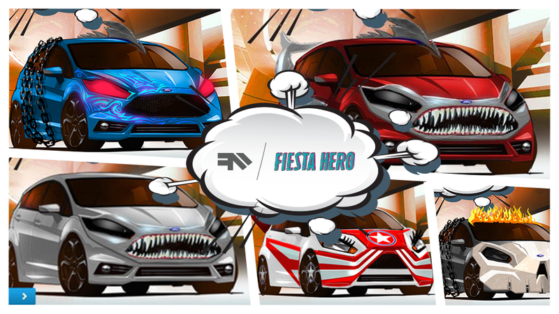 Illustration for article titled Death Fliestas, Sharks, and Lazers: The Best Reader-Created Supercars