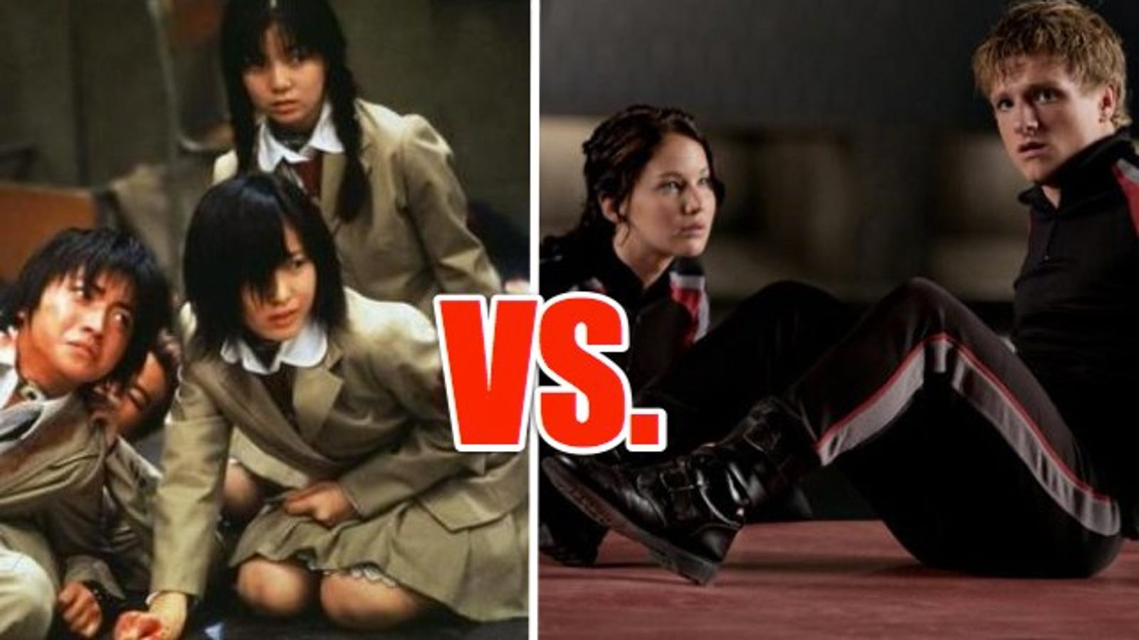Did The Hunger Games really rip off Battle Royale?