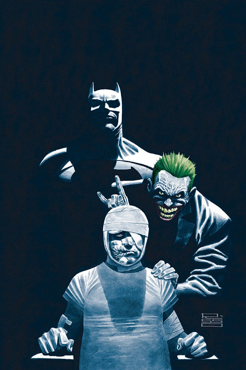 Illustration for article titled Dark Night: A True Batman Story is a Deep Dive into Depression