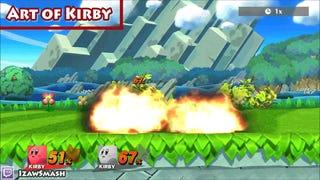 Smash Bros. Glitch Sets Kirby On Fire