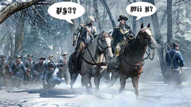 Illustration for article titled Comparing Assassin's Creed III on PS3 and Wii U