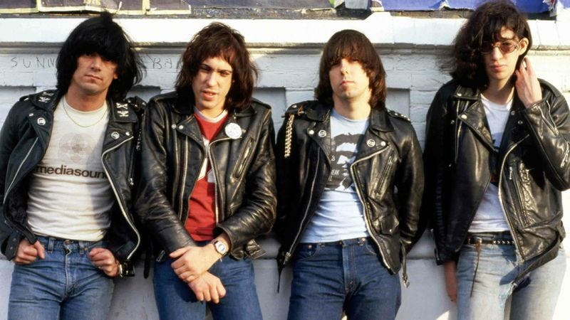 """Illustration for article titled With """"Do You Remember Rock 'N' Roll Radio?,"""" the Ramones pirated the past"""