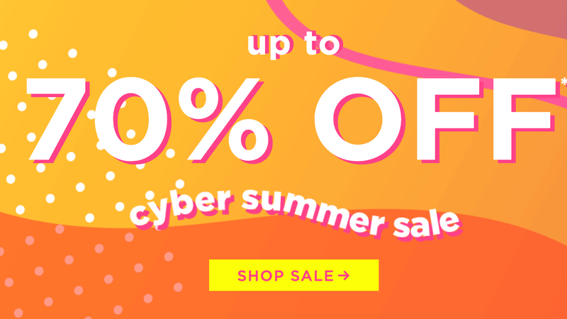 Cyber Summer Sale | Tarte Cosmetics | Promo code CYBER