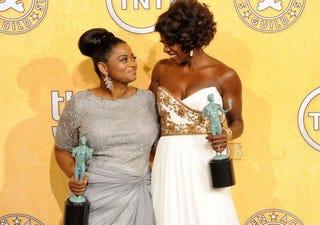 Octavia Spencer and Viola Davis (Getty Images)