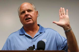 Illustration for article titled Rush Limbaugh Makes Fun Of Japanese Refugees