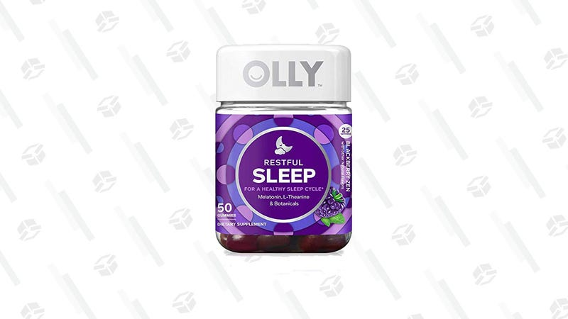 OLLY Restful Sleep Gummy Supplement | $12 | Amazon | Clip the $2 Coupon