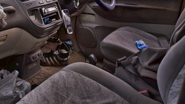 clean your car seats with washing soda. Black Bedroom Furniture Sets. Home Design Ideas