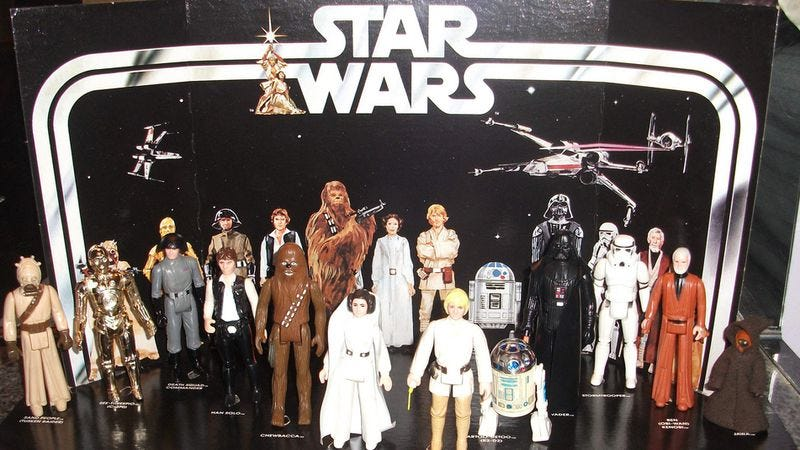 Illustration for article titled Star Wars relives its own history through vintage Kenner toy ads