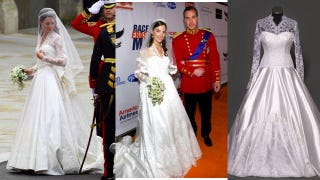 Illustration for article titled Royal Wedding Dress Predictably Inspires Envy, Copying