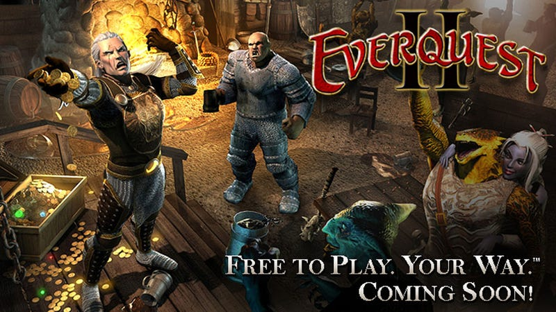 Illustration for article titled EverQuest II Fully Commits to Free-to-Play