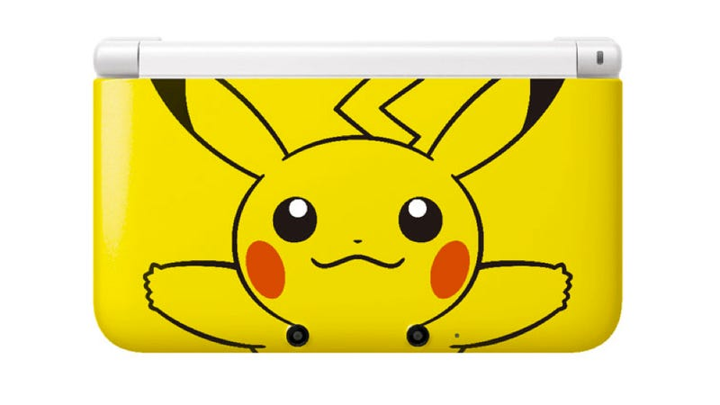 Illustration for article titled The Pikachu 3DS XL Is Just Too Adorable