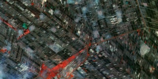 Illustration for article titled This Satellite Image Looks Like Some Kind of Impossible Staircase