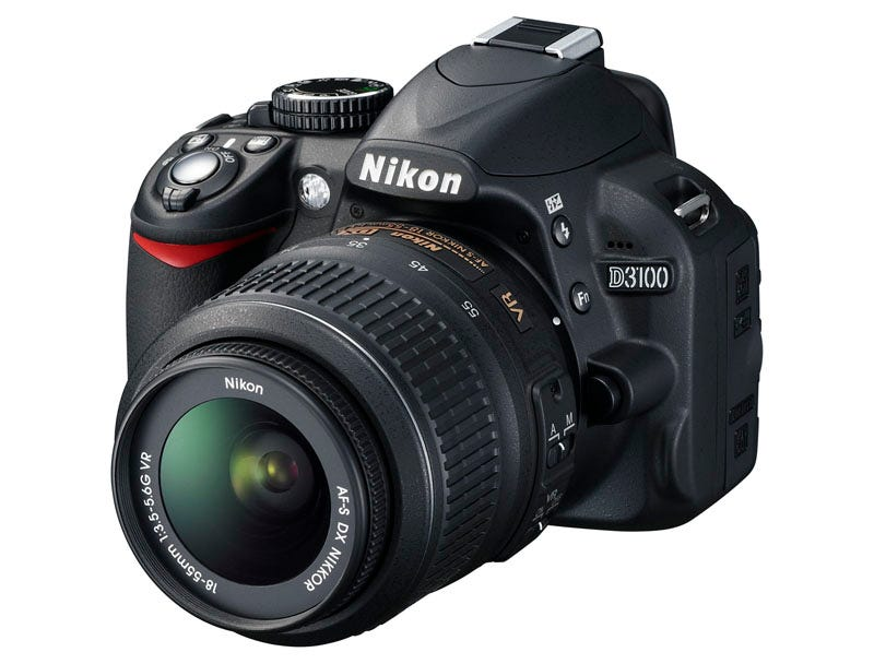 Illustration for article titled Nikon D3100: The First DSLR With Real Video Autofocus