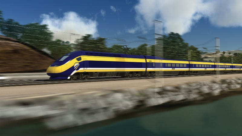 Illustration for article titled California's Bullet Train Is Delayed, and Nobody Knows How Long It Will Take