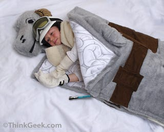 Illustration for article titled April Fool's Star Wars Tauntaun Sleeping Bag May Become an Actual Product