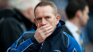 """Illustration for article titled """"Kenny Shiels Is A Bawbag"""" And Other Reactions To A Scottish Soccer Coach's Crazy Idea"""