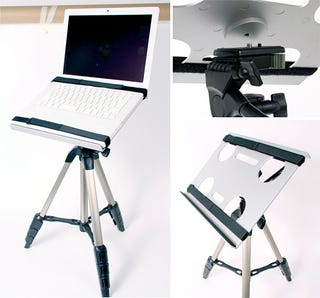 Illustration for article titled Laptop Tripod Stand—Because Why Should Cameras Get All The Fun?