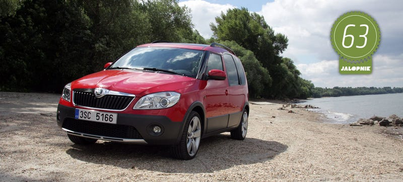 Illustration for article titled 2014 Skoda Roomster Scout: The Jalopnik European Review