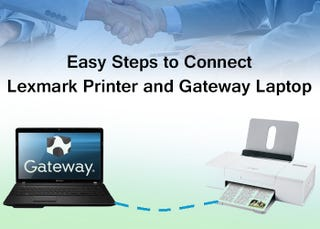 Illustration for article titled Simple and Easy Steps to Connect Lexmark Printer and Gateway Laptop