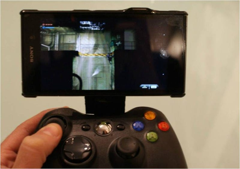 Illustration for article titled Cómo hacer tu Nvidia Shield con un mando de Xbox360 y un móvil Android