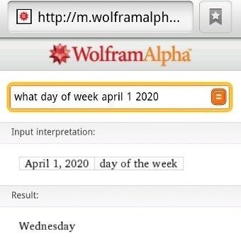 Illustration for article titled Wolfram Alpha Launches Mobile Site, Slashes iPhone App to $2