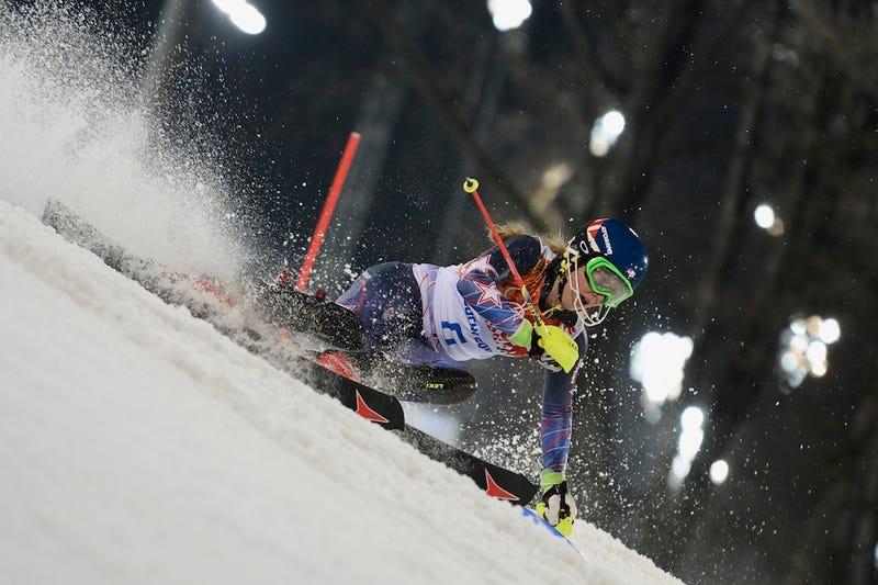 Illustration for article titled How 18-Year-Old Mikaela Shiffrin Kept Her Nerve And Won Slalom Gold