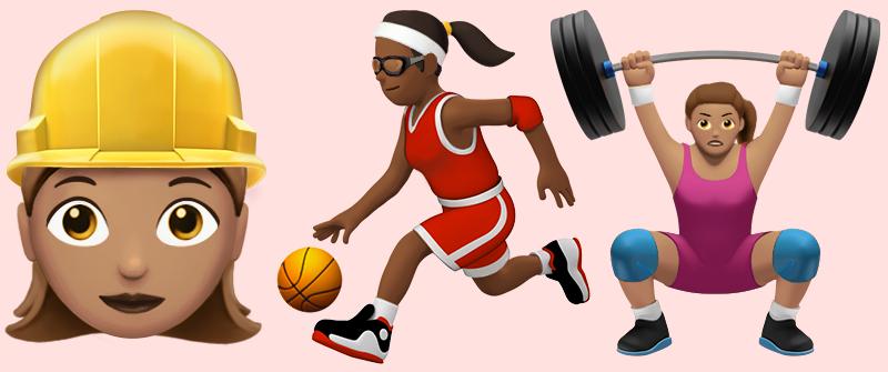 Illustration for article titled iOS 10 viene con más de cien nuevos emoji que promueven la igualdad de género