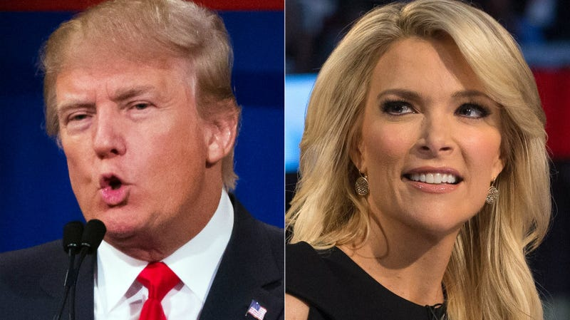 Illustration for article titled Continuing Outreach to Female Voters, Donald Trump Calls Megyn Kelly 'Crazy' Over and Over