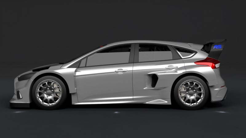 Illustration for article titled The Ford Focus RS RX Will Be Ken Block's 600 Horsepower Rallycross Beast