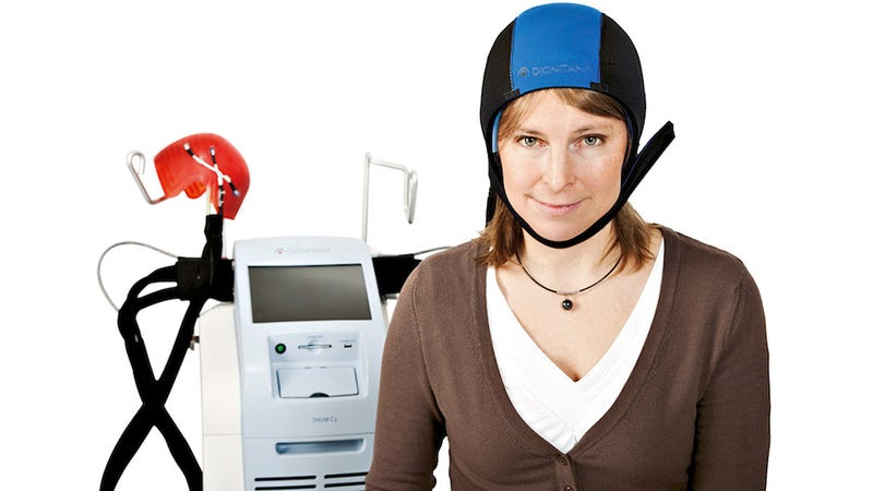 Illustration for article titled Wearing This Silicon Cooling Cap Reduces Hair Loss During Chemotherapy