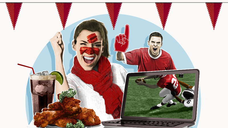 Illustration for article titled An Illustrated Guide to Hosting a Non-Sucky Football-Watching Party