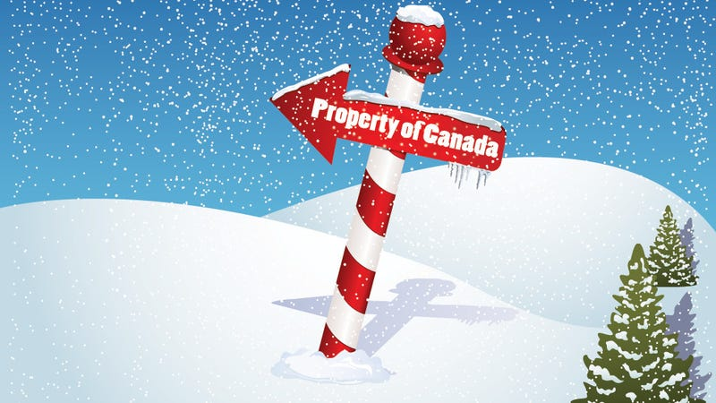 Illustration for article titled Canada's About to Claim the North Pole as Its Own