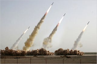 Illustration for article titled Iran State Media Used Photoshop to Make Missile Tests Look More Impressive