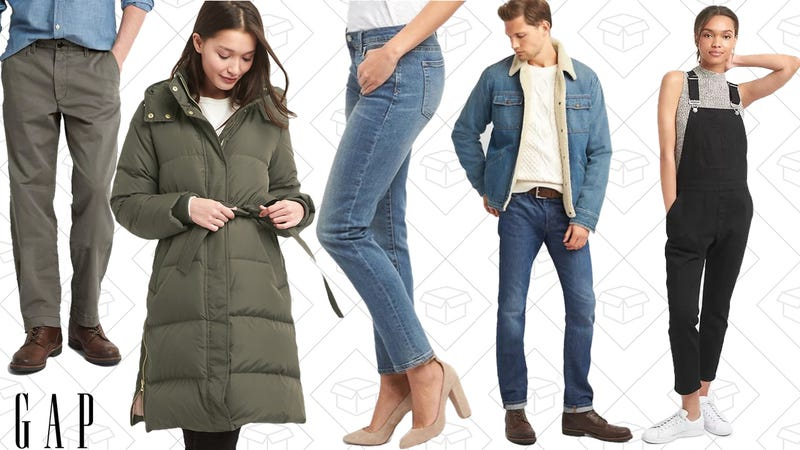 50% off everything | GAP | Use code CYBERExtra 10% off | GAP | Use code TREAT