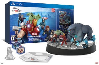 Illustration for article titled Disney Infinity Collector's Edition With Light Up Dark Base