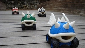Illustration for article titled The Printable, Raceable R/C Koopa Shell