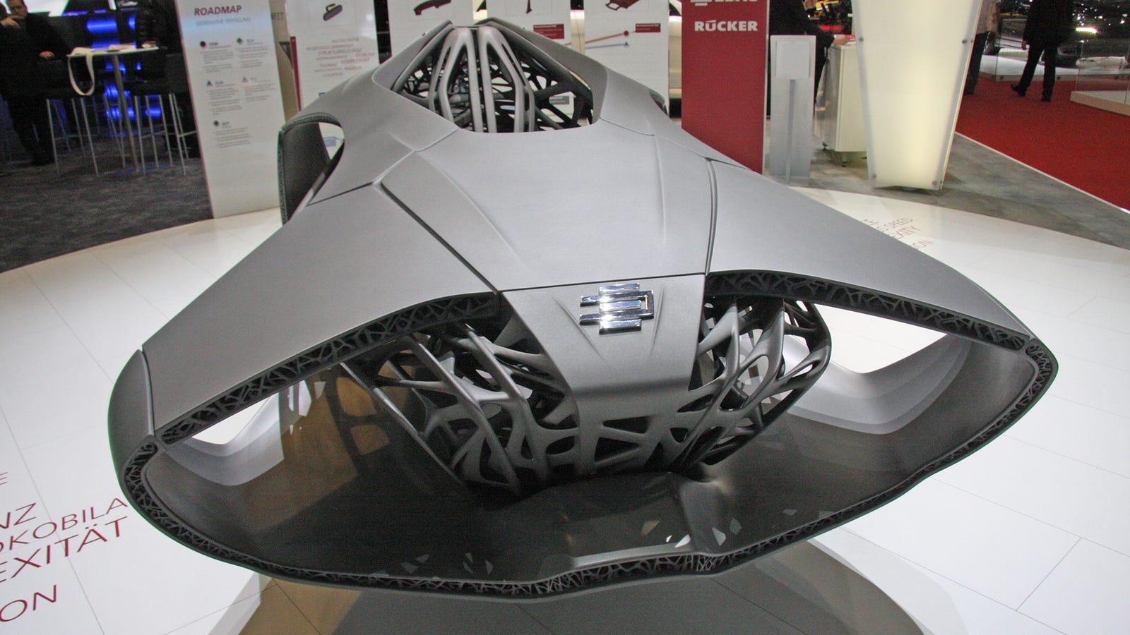 Génesis, el concepto de coche impreso en 3D que lo cambia todo