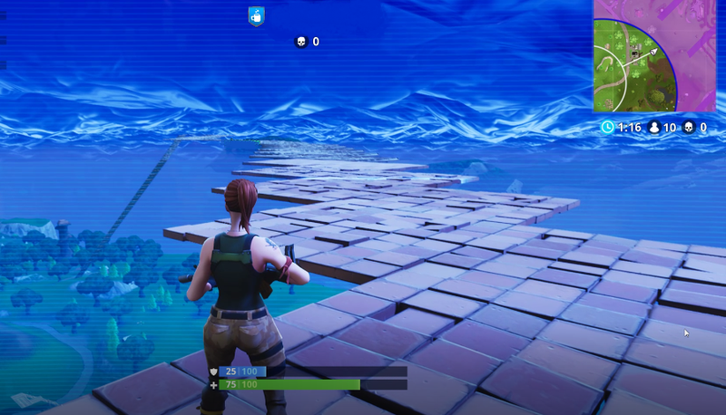 how to rebind build mats fornite