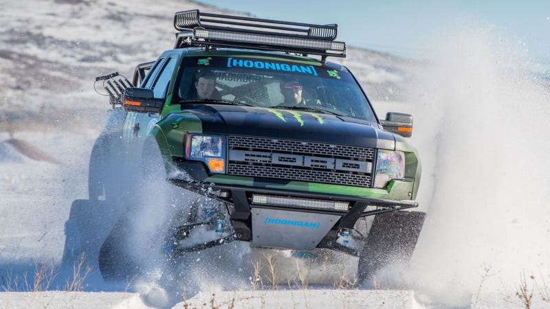 Illustration for article titled You'll Want Ken Block's RaptorTRAX Even More Once You See The Bed