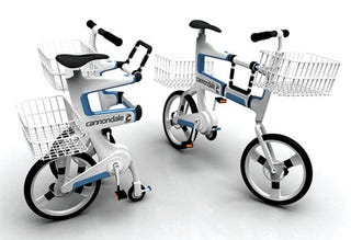 Illustration for article titled The Bicycle That is Also a Shopping Cart