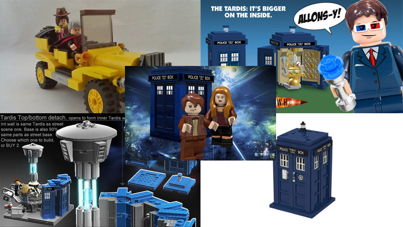 Illustration for article titled One week on, these are the 5 best Doctor Who projects on Lego CUUSOO