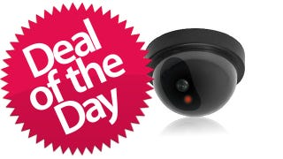 Illustration for article titled This Titan Fake Security Dome Camera Is Your Unsecure Deal of the Day
