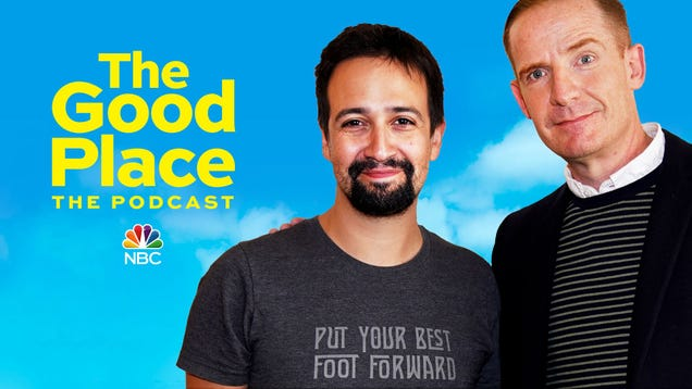 Lin-Manuel Miranda must choose: Hamilton or The Good Place? in this The Good Place: The Podcast exclusive