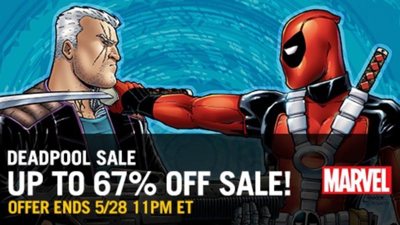 Deadpool Comic Sale | ComiXology