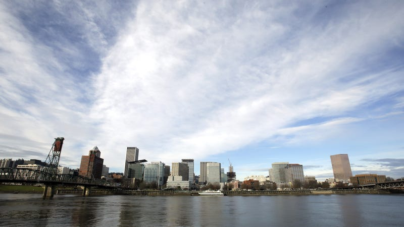 The Portland, Oregon, skyline. Image: AP