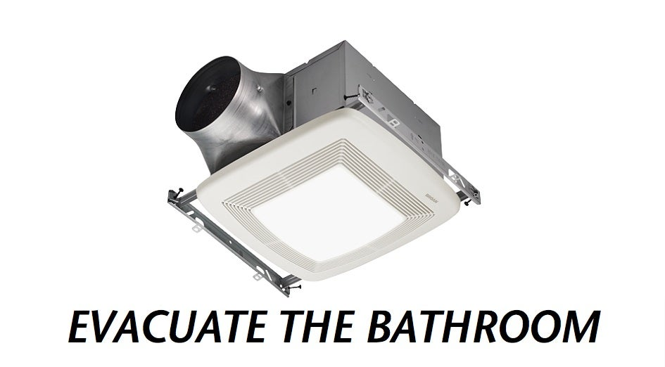 staggeringly efficient bathroom fan sucks out steam and stink rh gizmodo com