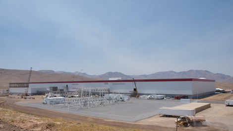 chemical spill reported teslas gigafactory