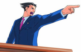 Illustration for article titled Capcom Toyed with Idea of Phoenix Wright vs. Tatsunoko