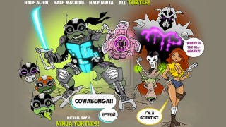 Illustration for article titled Michael Bay's leaked Teenage Mutant Ninja Turtles script is full of bad ideas